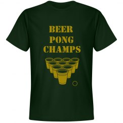 beer pong champs tee