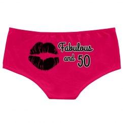 Fab & 50 Panties