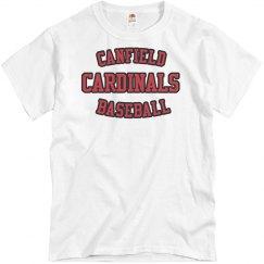 Canfield Baseball Tee