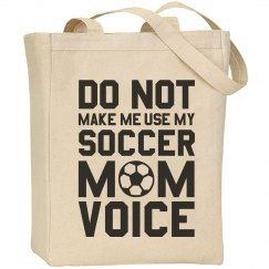 Soccer Mom Voice Bag