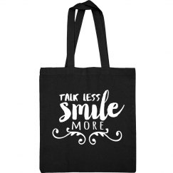 Hamilton Smile More Tote Bag