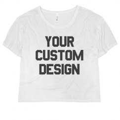Personalized Cropped Tees