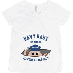 Navy Baby On Board