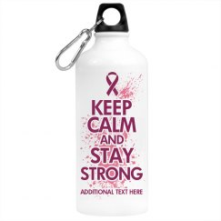 Keep Calm Pink Water