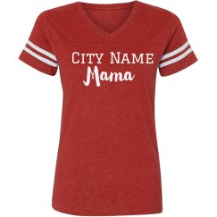 Proud Custom City Town Mama