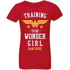 Training to be Wonder Girl Youth Tee