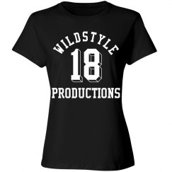 Wildstyle P T-Shirt for Blacklight Parties