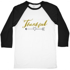 Gold Thankful This Thanksgiving