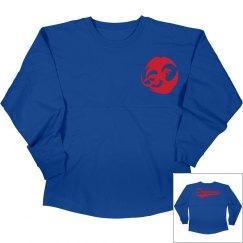 Hutchinson blue dragons long sleeve shirt.