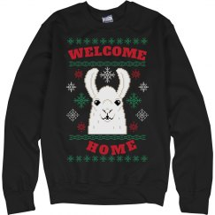 Welcome Home Christmas Sweater