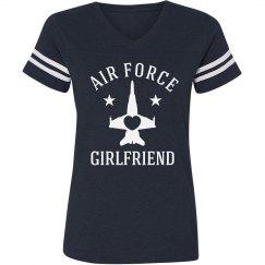 Trendy & Proud Air Force Girlfriend