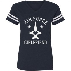 Trendy & Proud Air Force Girlfriend
