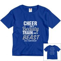 Cheer Train Like a Beast youth