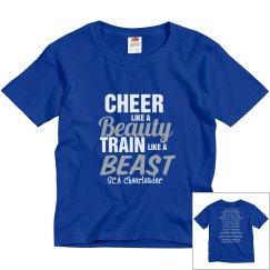 Cheer Train Like a Beast youth