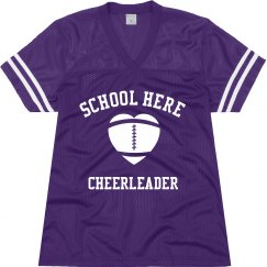 Football Cheerleader