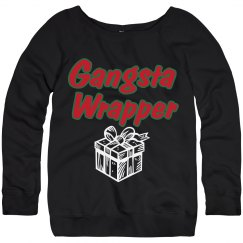 Gangsta Wrapper Pullover