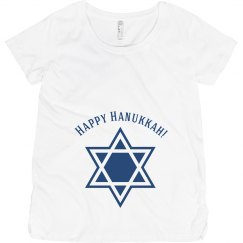 Simple Hanukkah Maternity