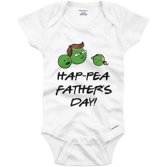 2e2e0e7c Happy Fathers Day Onesie! Infant Onesie
