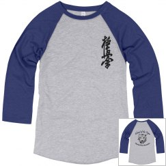 Unisex Raglan with Kanji and Logo