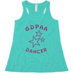 GDPAA Youth Racerback Top