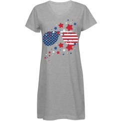 USA Flag Shades & Stars