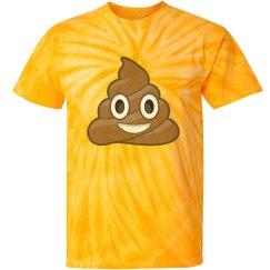 Poop Emoji Tie-Dye