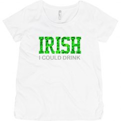 IRISH I could drink!