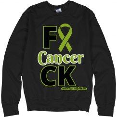 F Cancer Swearshirt