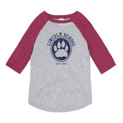 KIDS: Lincoln School Hollow Paw 3/4 (more colors)