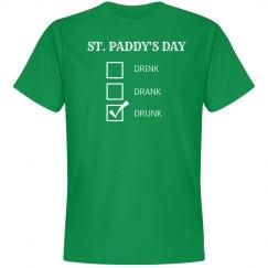 Drunk St. Patrick's Day