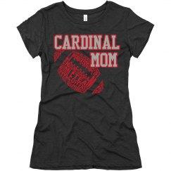 Cardinal Mom tee