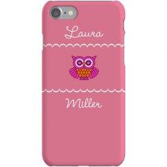 Custom Owl Lover iPhone