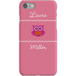 Custom Owl Lover iPhone