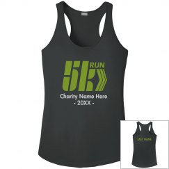 Custom 5K Charity Run Tank Top