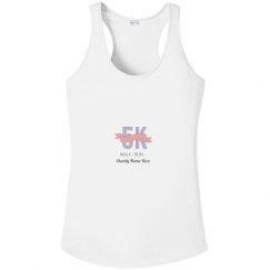 5K Pink Ribbon Custom Charity Top