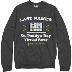 St. Patrick's Virtual Party Sweater