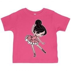 Kids Ballerina Graphic