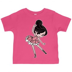 Kids Ballerina Graphic