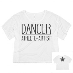 Ladies Dancer Athlete Artist Crop APA