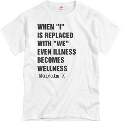 Malcolm X Wellness Quote