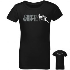 Can't Stop Won't Stop Youth Tee