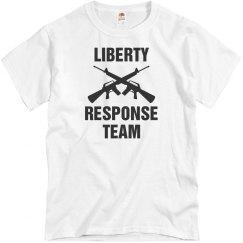 Liberty response team shirt