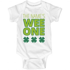Custom Wee One Irish Baby