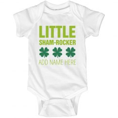 Cute Irish Baby Shamrocker