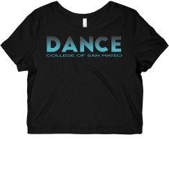 CSM Dance Short Sleeve Crop Top - Teal