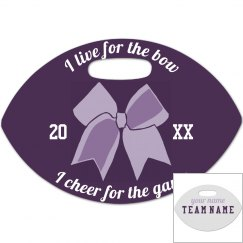 Cheer Football Tag