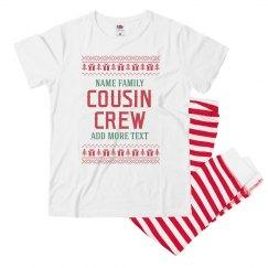 Christmas Sweater Cousin Crew PJs