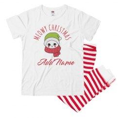 Meowy Christmas Matching Kids