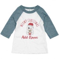 Toddler 3/4 Sleeve Raglan Tee