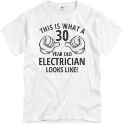30 year old electrician